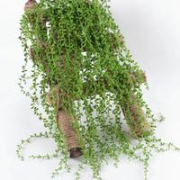 TERMURAH! Sukulen Juntai Artificial Daun Rambat Dekorasi Succulent