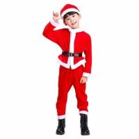 kostum/baju natal anak laki laki santa clause