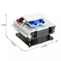 thermo electric peltier pendingin kipas heatsink sistem air