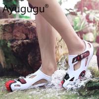 6 Warna Luar Pria Sandal Sepatu Olahraga Kasual Tahan Air Pasangan San