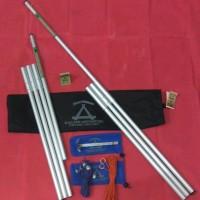 Tiang Frame Flysheet Alluminium Ultralight 210 Cm-Paket