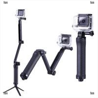 3 Way Selfie Handheld Stick Monopod Folding Holder For Gopro Hero 4 3+