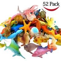 Lucu BT Ocean Sea Animal Assorted Mini Vinyl Plastic Animal Toy Set