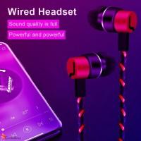 Mantap Earphone In-Ear Subwoofer Dengan Kabel Kepang Loca
