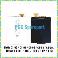 TERMURAH LCD 12 PIN NOKIA C1 00 C1 01 C1 02 C1 03 C2 00 X1 01 100 101