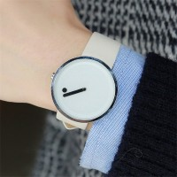 Grosir Concept Point wristwatch Scale Lady female PU leather Strap