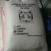 pasir kucing wangi gumpal 25L