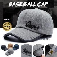 Jamont Special Comfort Topi Baseball Hat Cap Casual Sport Pria Wanita