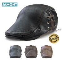 Jamont Three Side Lines Topi Newsboy Flat Hat Pelukis Patino Sutradara