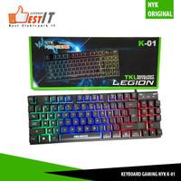 Keyboard Gaming Mechanical NYK TKL K01