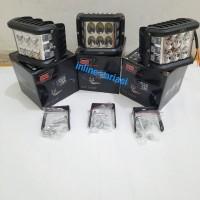 lampu tembak sorot gree 6led plus senja strobo cr7 4306/lampu motor