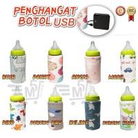 tokojustin Penghangat Botol Susu Bayi Portable dengan USB