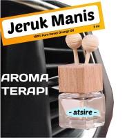 Parfum Mobil AROMATERAPI Atsire - Orange Car Freshener - Minyak Jeruk