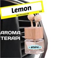 Parfum Mobil AROMATERAPI Atsire - Lemon Car Freshener - Minyak Atsiri