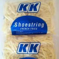 KK KENTANG GORENG FRENCH FRIES SHOESTRING 1KG