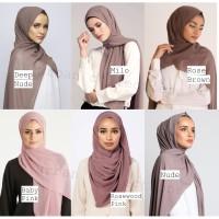 Heavy Chiffon Pashmina/Arabian Pashmina Premium Chiffon Hijab Malayan