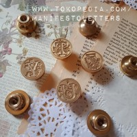 Wax Stamp Head Alphabet S-Z Wax Seal Initial DIY stempel lilin