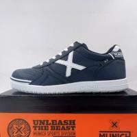Sepatu Futsal Anak Munich G-3 Kid Profit 44 Navy 1511044 Original BNIB