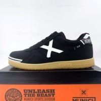Sepatu Futsal Anak Munich G-3 Kid Profit 08 Black White 1511008 Ori