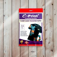 Kertas Stiker Sablon Kaos Kertas Transfer Paper Dark T-Shirt A4