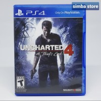 Uncharted 4 a thief end Kaset BluRay BD Game Playstation 4 PS4