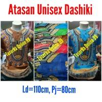 PROMO TERMURAH Baju Bali Dashiki Corak Warna Random