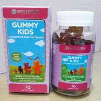 Wellness Gummy Kids Children's Multivitamins - 70 Gummy Bears