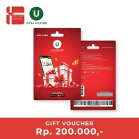 Ultra Voucher Fisik Rp 200.000 (Special Gift Card)