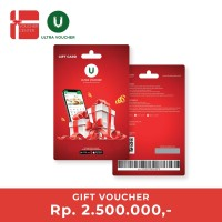 Ultra Voucher Fisik Rp 2.500.000 (Special Gift Card)