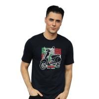 FILA X VESPA Kaos T-Shirt Pria Sesvan Navy