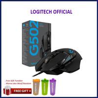Logitech G502 HERO High Performance Gaming Mouse - Hitam