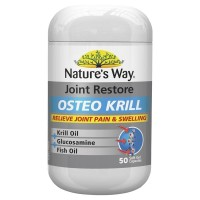 Natures Way Joint Restore Osteo Krill Glucosamine Fish Oil 50caps