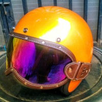 Kaca helm custom Outer visor cakil bogo bandit vigano simpson bell hbc