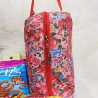Goodie Bag Pink Flower Souvenir Cantik Murah Tempat Snack Ulang Tahun