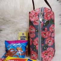 Goodie Bag Gray Flower Souvenir Cantik Murah Tempat Snack Ulang Tahun