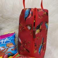 Goodie Bag Red Bird Souvenir Cantik Murah Tempat Snack Ulang Tahun
