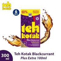 [6PCS] Teh Kotak Rasa Blackcurrant 300 ml