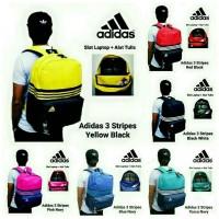 Tas Ransel Pria / Tas Ransel Backpack Punggung Pria Adidas Stripes