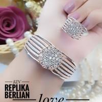 xuping gelang cincin replika berlian b644