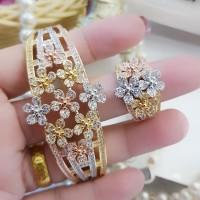 xuping gelang cincin replika berlian b642