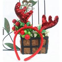 Bando Natal Tanduk Rusa Merry Christmast/Motif Tanduk Rusa Aneka model
