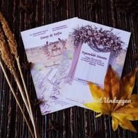 undangan pernikahan undangan blanko flashprint card ff