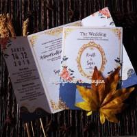 undangan pernikahan undangan blanko flashprint card fc
