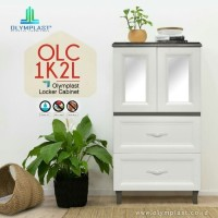 Olymplast Lemari Cabinet Laci Drawer Plastik OLC 1K2L