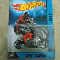 Hotwheels Motor Cycles Dodge Tomahawk With Removable Real Rider Rare