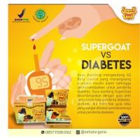 Susu Diabetes Susu Kambing Etawa Bubuk Murni SUPERGOAT