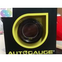 Boost Meter Auto Gauge Digital diameter 52 MM Tampilan Warna Warni