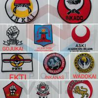 Logo Emblem Perguruan Karate Indonesia Lengkap dan Murah