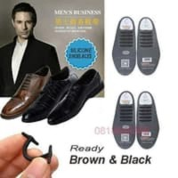 Tali Sepatu Silikon Karet Formal Pantofel Free Model 12pc 2 sepatu