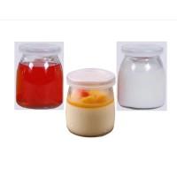 Botol Jar Toples Kaca 200ml (ukuran PENDEK) : Puding / Kue / Selai